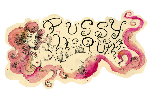 There is no part of this logo that is not something I would want to find on Tumblr.  via Pussy les Queer