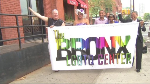 The Bronx GLBTQ Center at NYC Pride 2013.