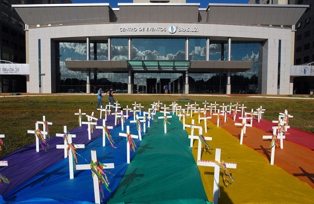 MEMORIALS FOR VICTIMS OF HATE CRIMES {VIA AGENCIA BRASIL}
