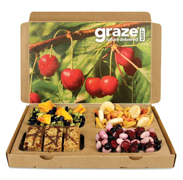 This is a Graze box. (via graze.com