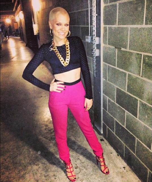 via Jessie J's instagram
