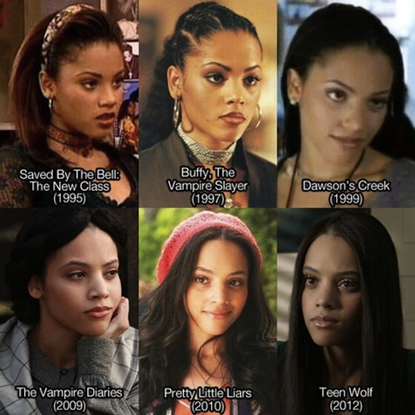 Ageless beauty a la Bianca Lawson Via Happy Place