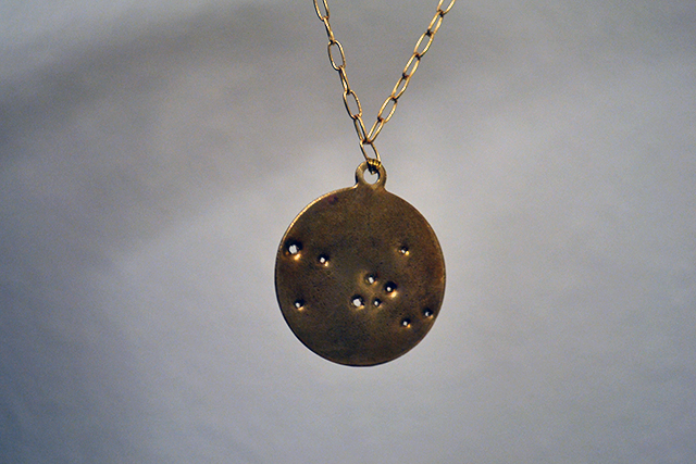 make a thing constellation necklace 9