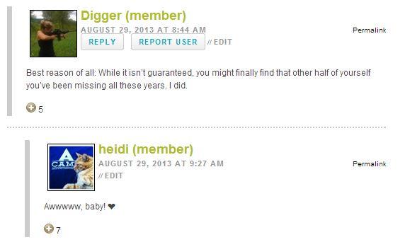 Digger and heidi