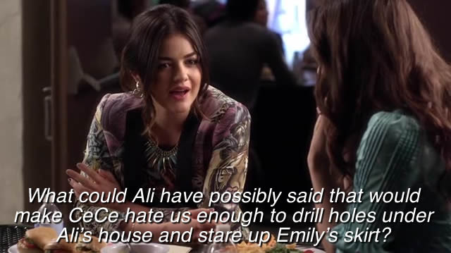 """She could have said """"Emily wears crotchless panties"""""""