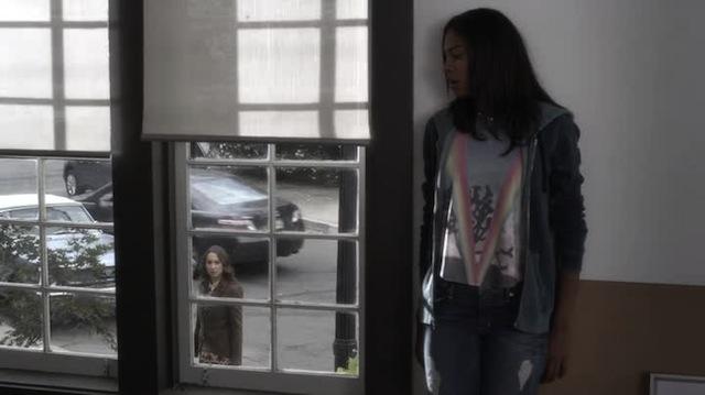 """Shana is modeling the """"Rainbow Vagina"""" T-shirt"""