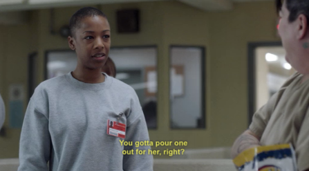 poussey why is your face perfect tho