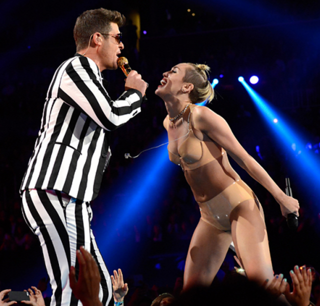 miley and thicke