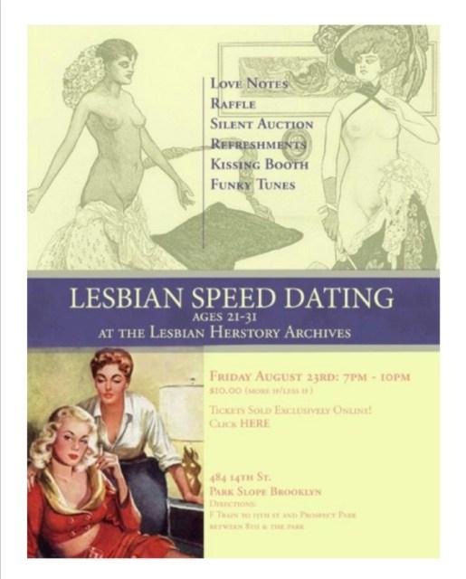 Speed Dating Flier