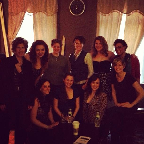 The lovely ladies of April's Lezcab