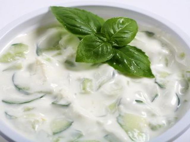 I realize it's damn near impossible to make my tzatziki photogenic My Delicious Recipe