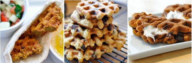 So many things you can waffle via Waffleizer