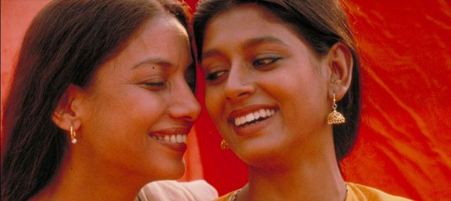 Shabana Azmi as Radha and Nandita Das as Sita in Fire via Hamilton Mehta