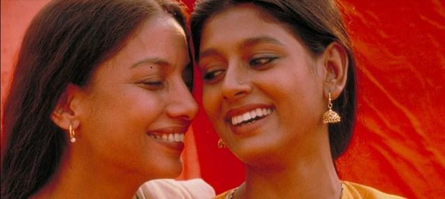 Shabana Azmi as Radha and Nandita Das as Sita in Fire via Hamilton Mehta