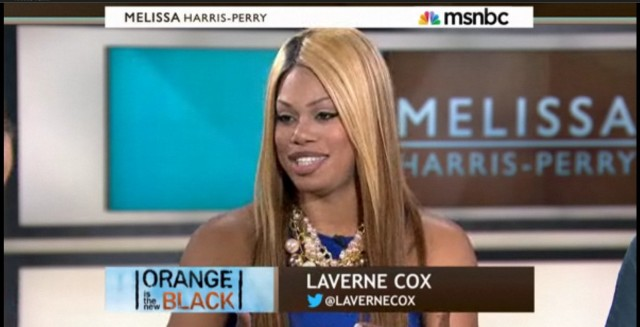 Laverne on the Melissa Harris Perry Show
