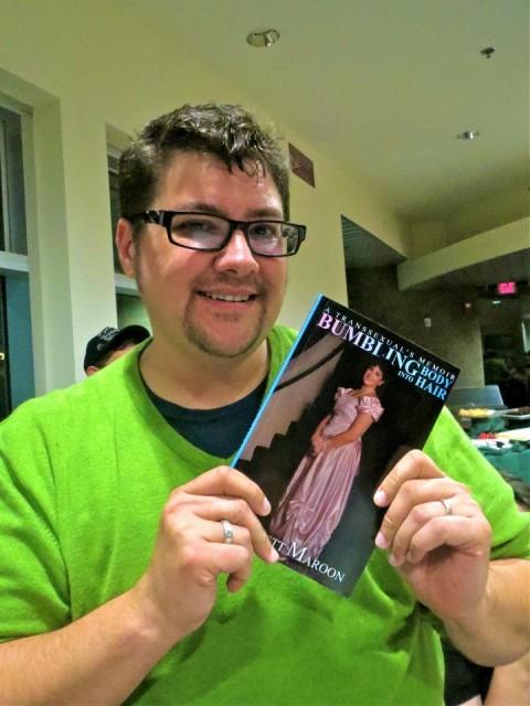 caption: Check out Everett Maroon's memoir, Bumbling into Body Hair via Trans/plant/portation
