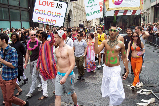 London Pride 2011 via Richard Tanswell / Flickr