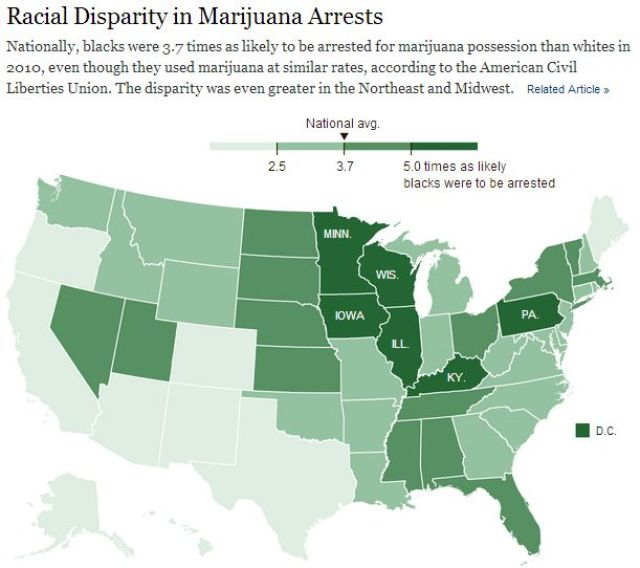 marijuana-arrests