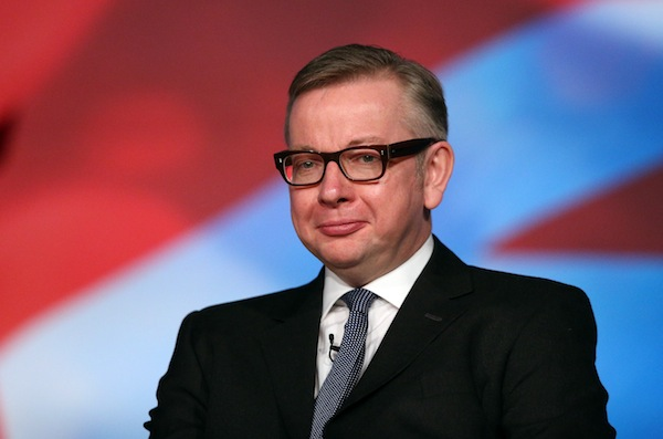 Michael Gove (via The Spectator)