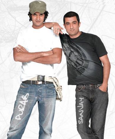 Sanjay Suri as Nikhil and Purab Kohli as Nigel in My Brother...Nikhil via Pozor