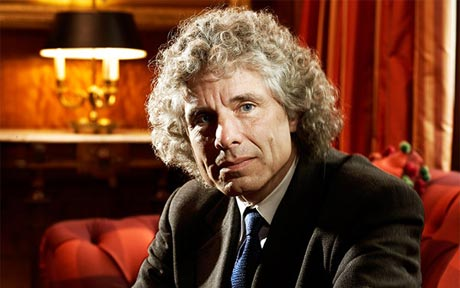 Steven Pinker via http://blogs.telegraph.co.uk/news/files/2012/08/steven-pinker.jpg