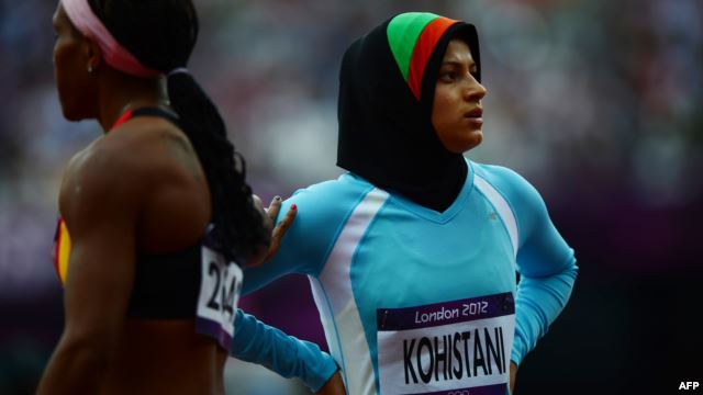 TAHMINA KOHISTANI, AFGHANISTAN'S ONLY FEMALE ATHLETE AT THE 2012 GAMES (VIA RADIO FREE EUROPE/RADIO LIBERTY)