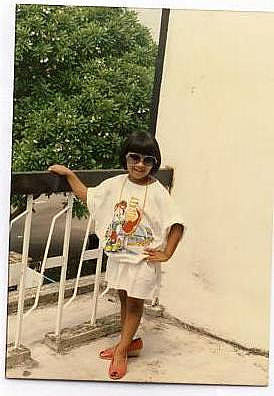 Me being fabulous as a kid, before things became painful and horrendous.