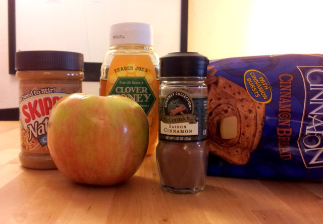 apple sandwich ingredients