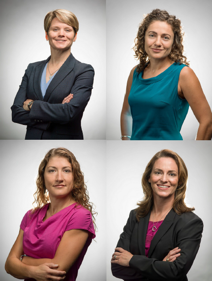 Anne McClain, Jessica Meir, Christina Hammock and Nicole Aunapu Mann are the cream of the crop in awesomeness. Photos from .