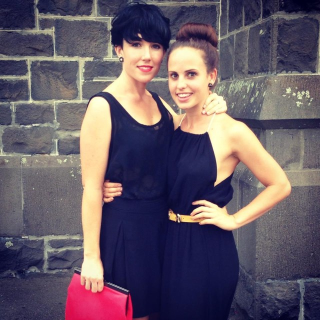 Juliet and her girlfriend