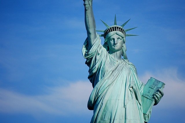 Lady Liberty wants YOU to send in a picture of your journal! via Flickr