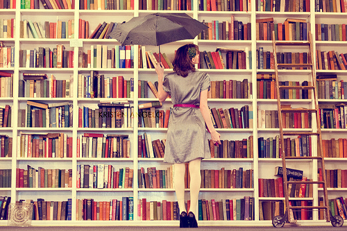 books-with-an-umbrella-for-some-reason