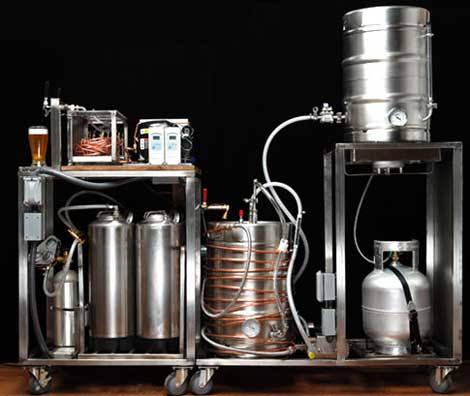 A serious homebrew setup via Manzine