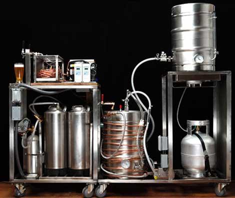 A serious homebrew setup via Manzine