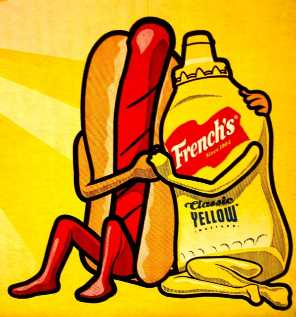 This is what happened when I googled Mustard Love. I don't even know what to say.