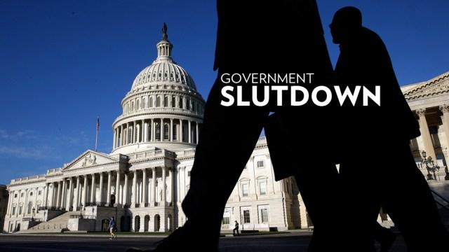 Congress Meets As Government Shutdown Looms