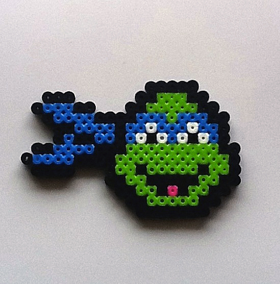 Your Childhood Lives On In Perler Beads: 40 Nerdy 8-Bit ...
