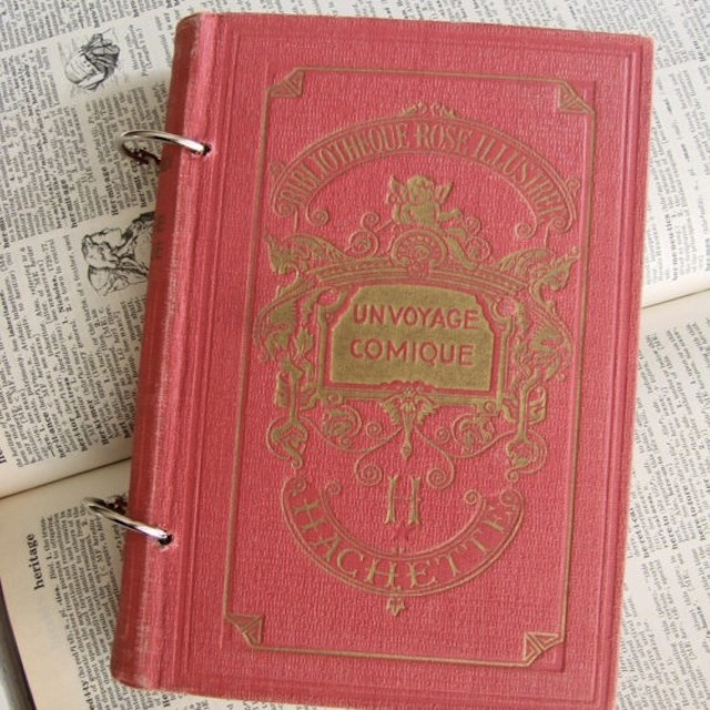 If anything is too beautiful, it's this gorgeous vintage-y journal (via Too Askew)