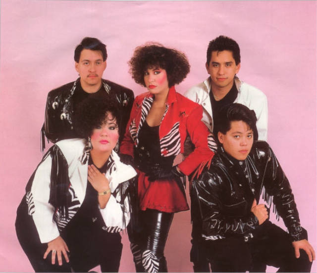 The early days of Selena y los Dinos. via umich.edu