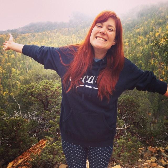 Lizz doing wilderness