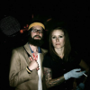 A friend and Torre as Richie and Margo from the Royal Tenenbaums