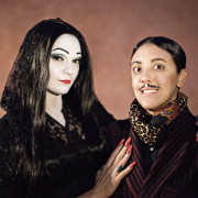 gomez: how long has it been since we waltzed? morticia: oh, gomez.. hours.