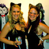 Christina and Shannon as Catwomen