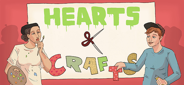 Click here for more Hearts and Crafts!