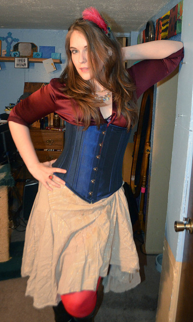 Launa as one of Mr. Veil's girls from Fallen London