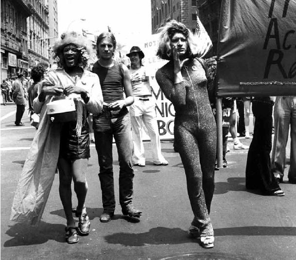 Marsha P. Johnson and Sylvia Rivera