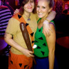 Jess and Christina as Bam Bam and Pebbles