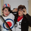 Dana and Alison as Tank Girl and Jet