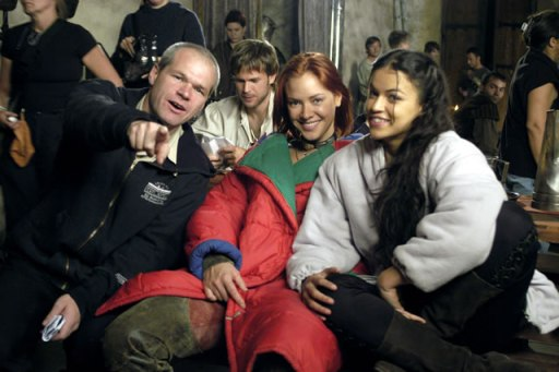 behind the scenes of bloodrayne, 2005