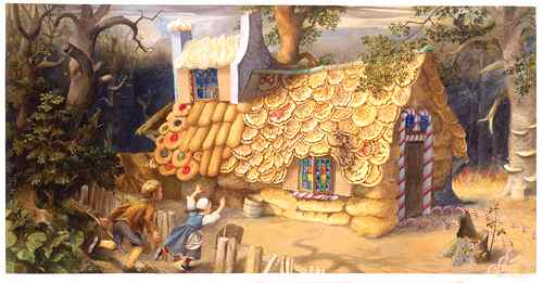 [SURPRISINGLY GRIMM DID NOT MENTION THEIR TENDENCY TO MAKE TANTALIZING CANDY HOUSES.